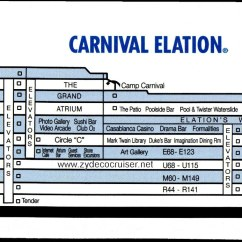 Carnival Cruise Ship Diagram Wiring For Automotive Ac Elation February 4 9 2013 Pictures From A September 2004 Here