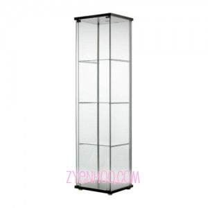 IKEA glass door cabinet