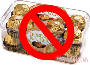 NO FERRERRO ROCHER. I DO NOT LIKE FERRERO ROCHER. Daniel Chew, please shuddup again.