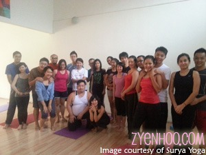 Workshop Participants with Regine and Xiang