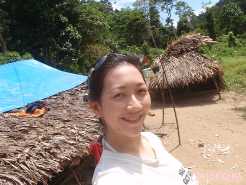 Me in the Orang Asli village