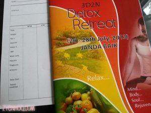 Detox retreat organised by Surya Yoga