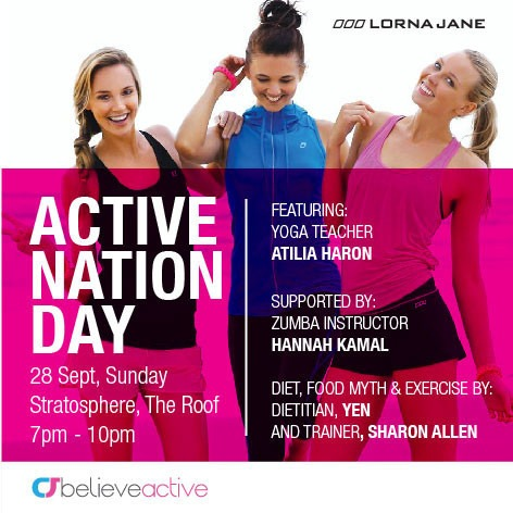 Active Nation Day Info (taken from www.believeactive.com)