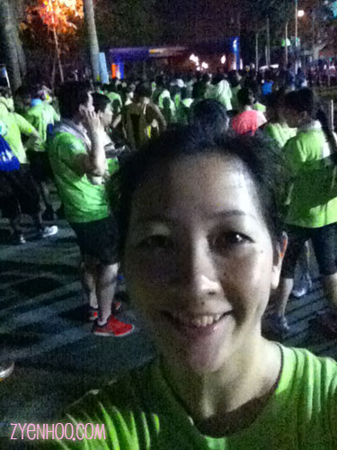 My selfie at the Start line