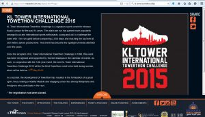 The only information available on Menara KL's official website. Click to view larger image.