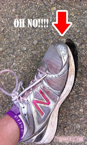 Noooooo!!! My shoe!!!!