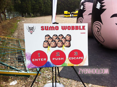 What to do in the Sumo Wobble