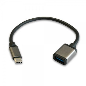 CABLE 3GO OTG USB-AH A TYPE-C 3.0 20CM 32+24 AP+AL C136