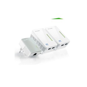 ADAPTADOR RED TP-LINK KIT 3X PLC 500MBPS WIFI