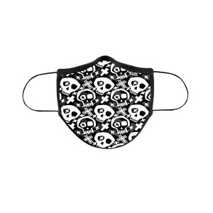 MASCARILLA DE TELA ADULTO D-COOL SKULL ADULTO