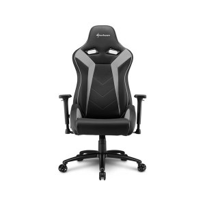 SILLA GAMER SHARKOON ELBRUS 3 NEGRO GRIS
