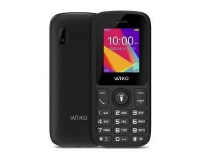 TELEFONO MOVIL WIKO F100 NEGRO 1.8″