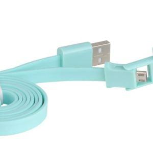 CABLE 3GO USB A MICRO USB Y APPLE 30 PIN PLANO CEL