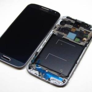 REPUESTO SAM.GALAXY S4 I9505 LCD+TOUCH+FRAME NEGRO