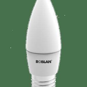 LED VELA ROBLAN 5W-E27-396LM-6500K-FR?A-160?