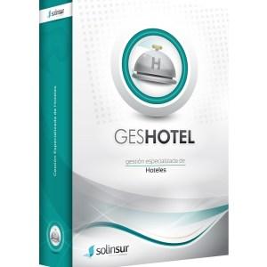 SOFTWARE GESHOTEL LICENCIA ELECTRO GESTION HOTELES