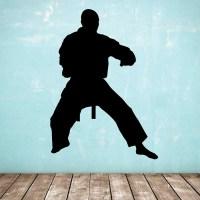 Standing Silhouette Figure - Karate / Taekwondo / Marial ...