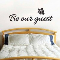 Be Our Guest Wall Sticker   eBay