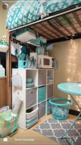 Efficient Dorm Room Organization Decor Ideas 10
