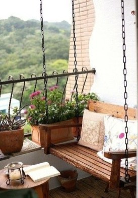 Perfect Small Balcony Design Ideas 29