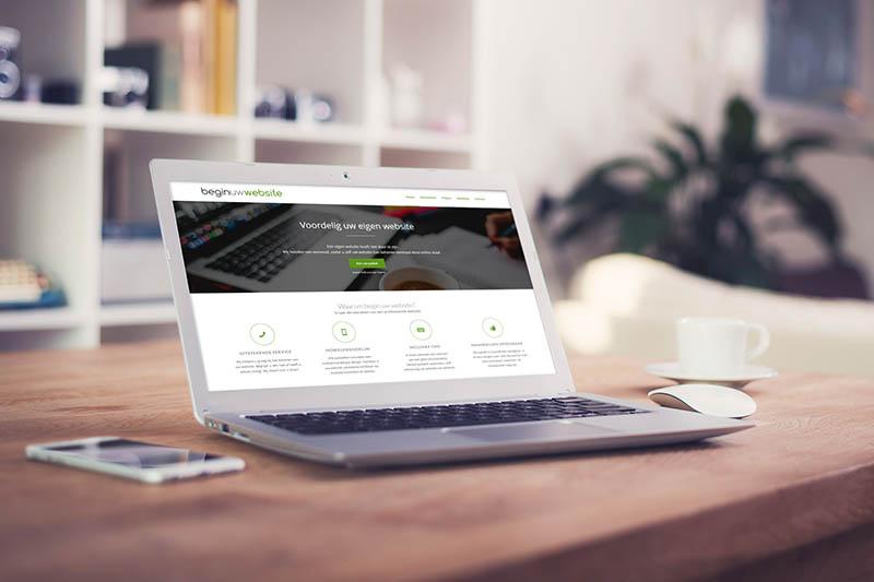 Begin Uw Website ontworpen door Zymion