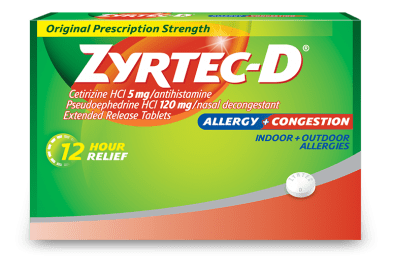 ZYRTEC® Tablets for Allergy Symptom Relief   ZYRTEC®