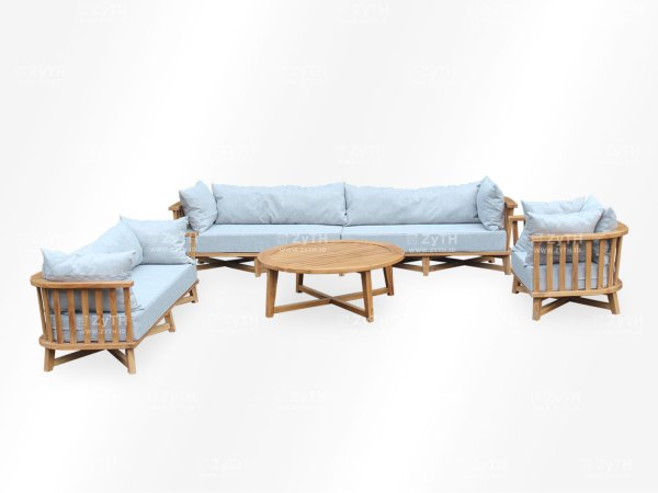 Set kursi ruang tamu minimalis mewah berukuran besar