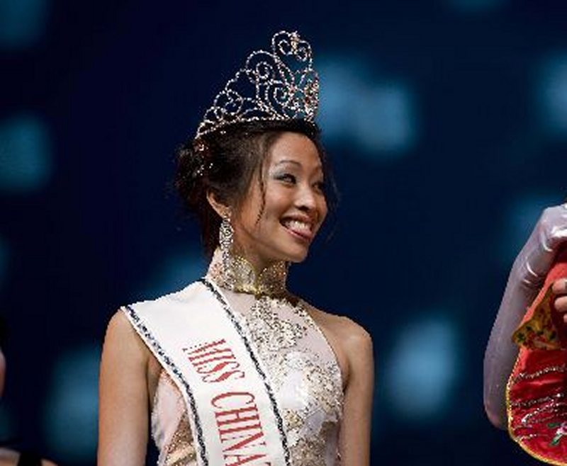 世界精品網 - 快訊:休斯頓華埠小姐吳欣雲(Cindy Wu)榮獲2009年全美華埠小姐桂冠(圖)