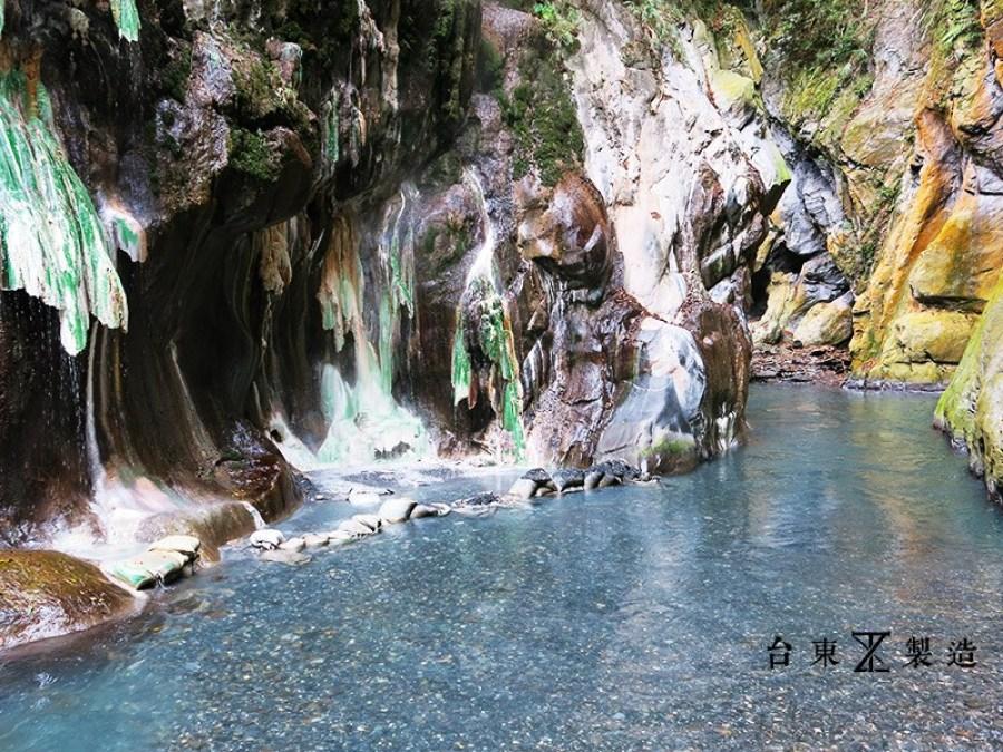 台東溫泉泡湯指南10-栗松野溪溫泉