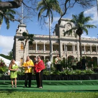 Huli-A-Mahi, ʻIolani Palace, Jan. 20, 2013