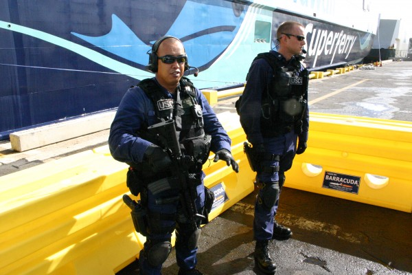 Guarding the Superferry