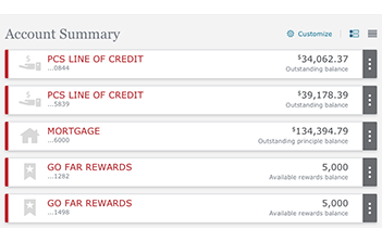 Account Summary And Activity Online And Mobile Tour Wells Fargo