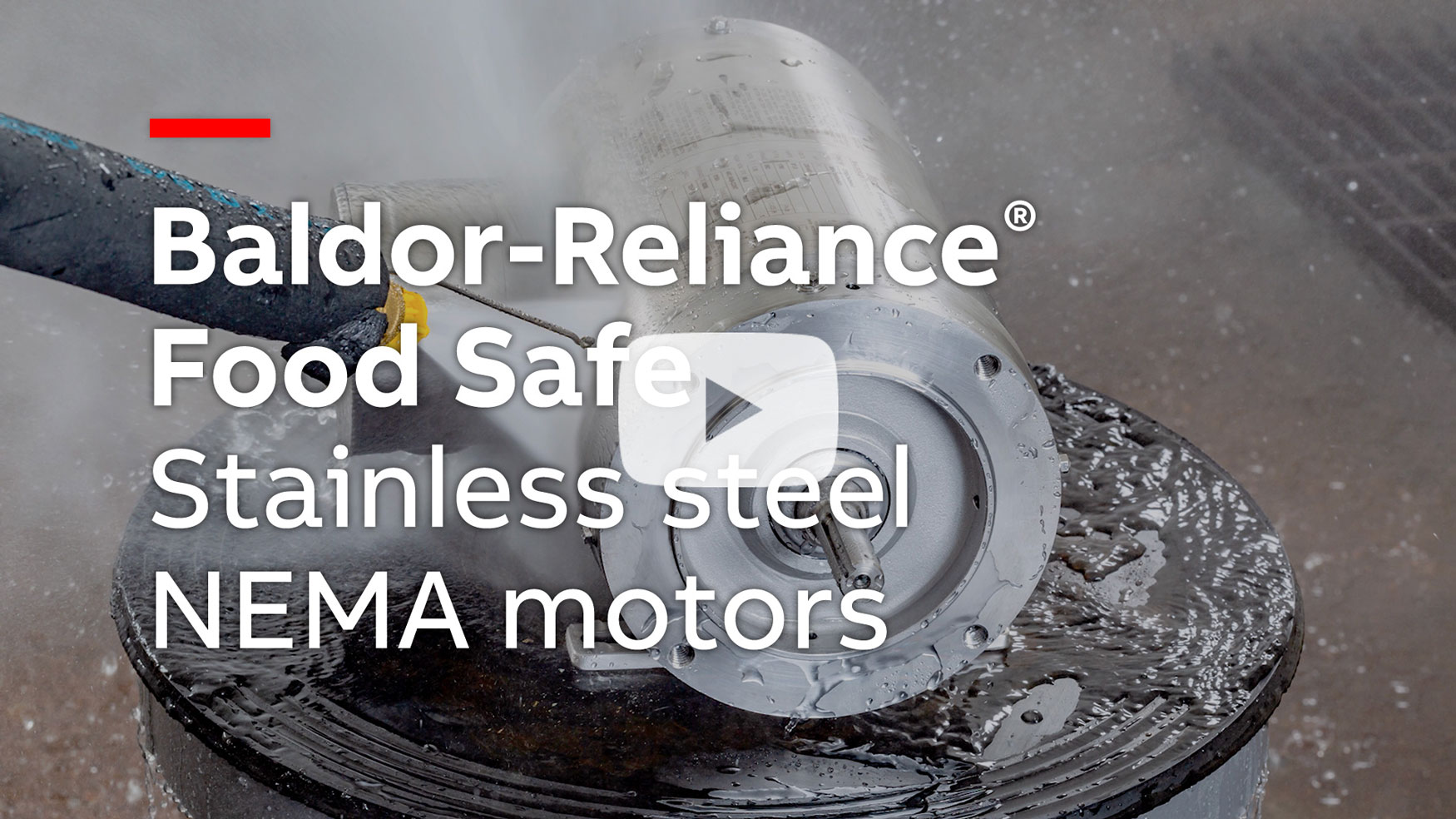 medium resolution of baldor reliance food safe stainless steel nema motors watch video