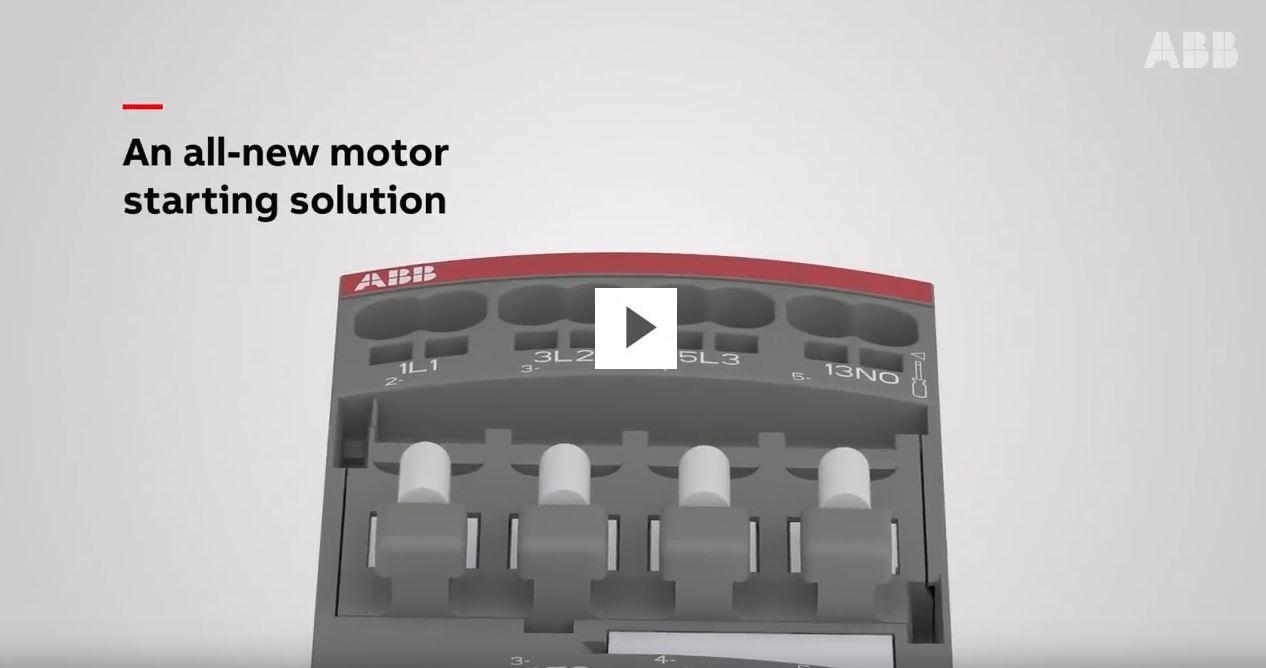 medium resolution of motor starting solution woth push in spring terminals