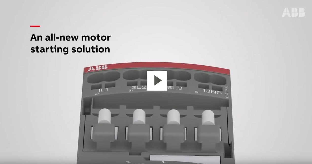 small resolution of motor starting solution woth push in spring terminals