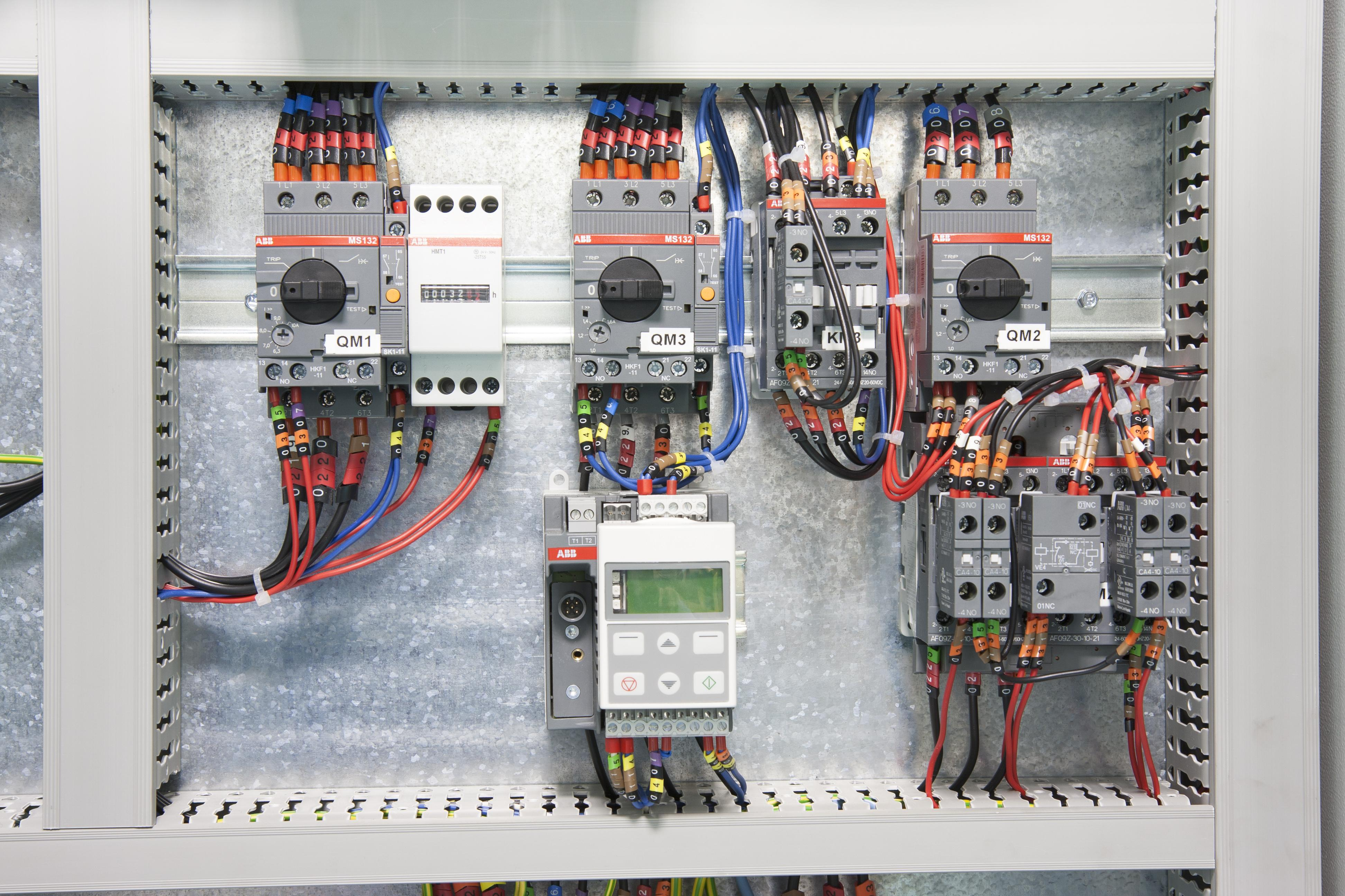 Single Phase 220v Wiring Diagram Wiring Duct Amp Trunking Wire Amp Cable Management Abb