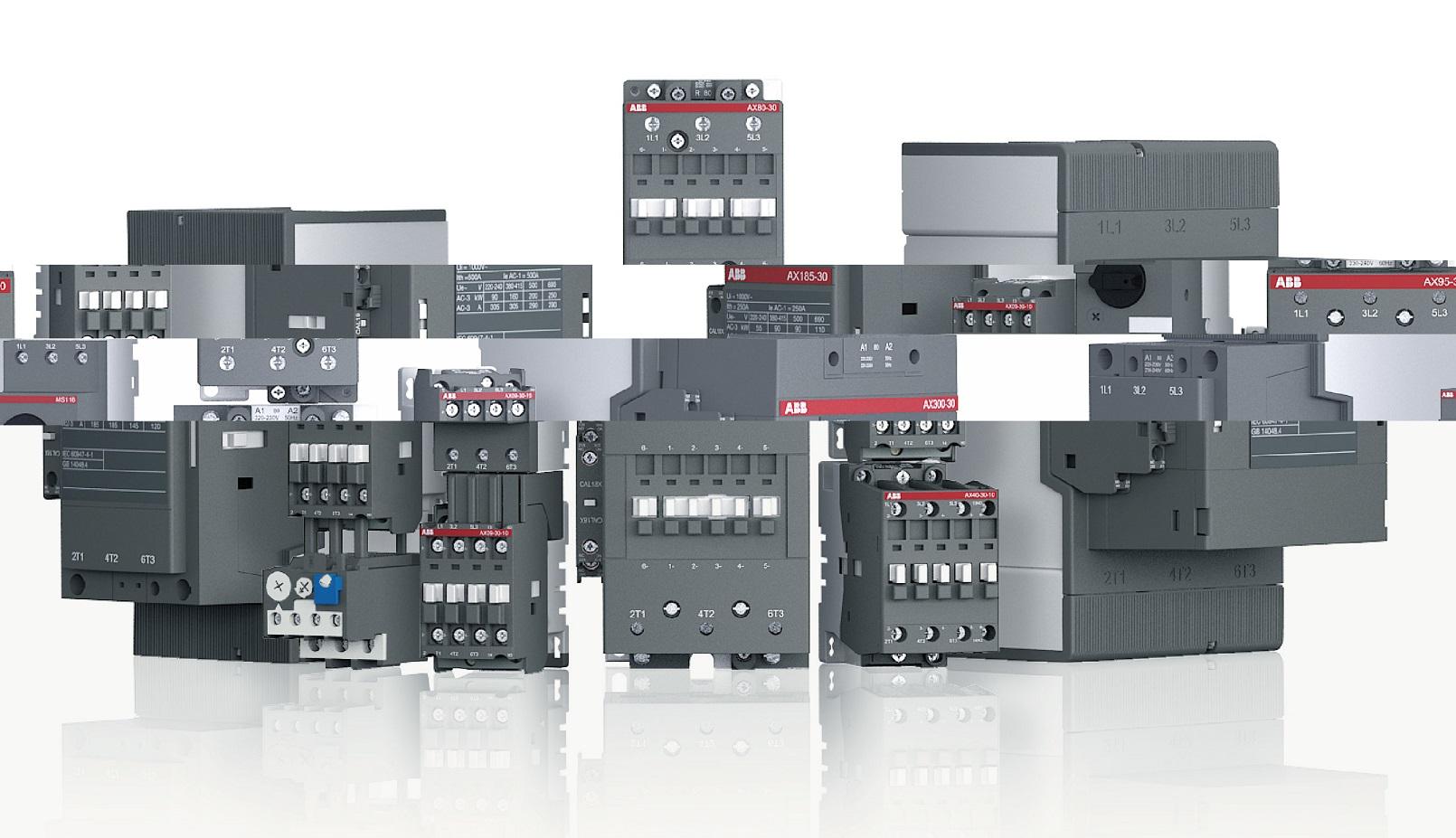 af contactors 3 pole contactors and overload relays for motor abb contactor wiring diagram  [ 1610 x 927 Pixel ]