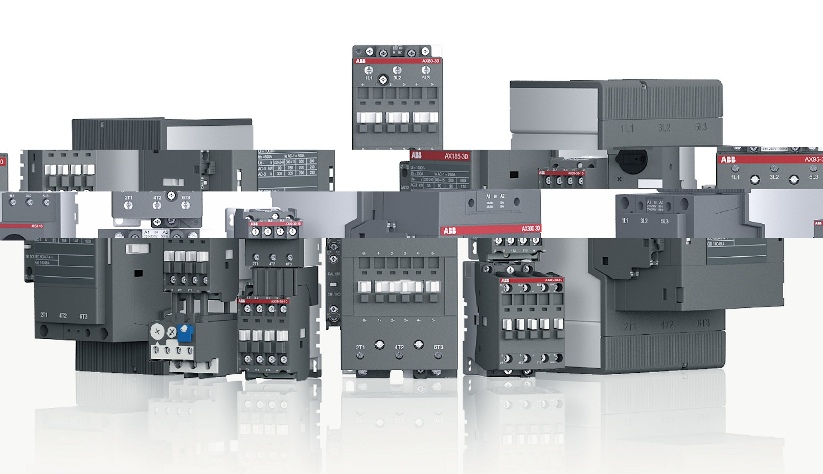hight resolution of af contactors 3 pole contactors and overload relays for motor abb contactor wiring diagram