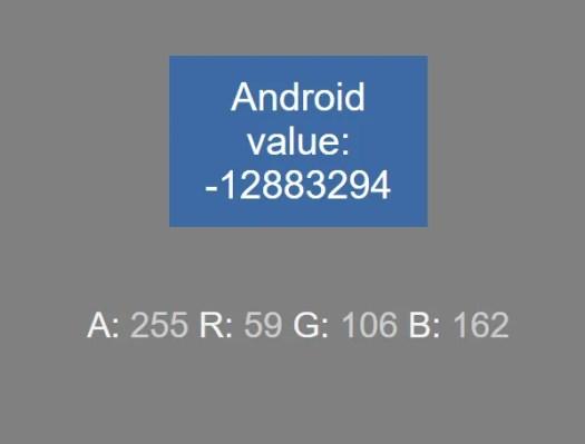 color number