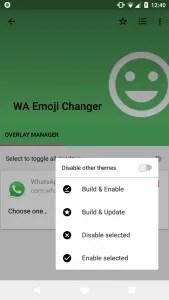 Get Blob Emoji on Whatsapp in Android Oreo