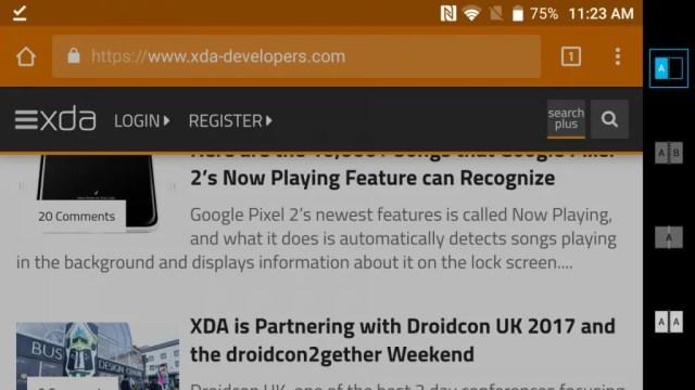 ZTE Axon M Mode Switcher