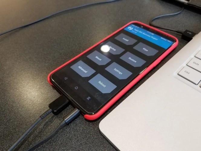 OnePlus 5T TWRP
