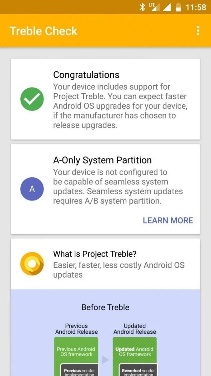 Developer Brings Full Project Treble Compatibility to the