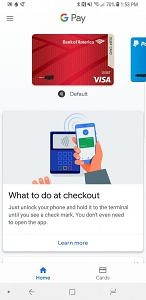 Samsung Galaxy Note8 Android Oreo Google Pay