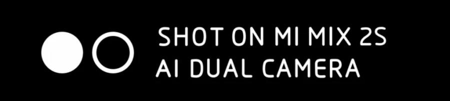 Xiaomi Mi Mix 2S Camera Watermark