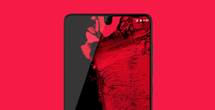 essential phone notch