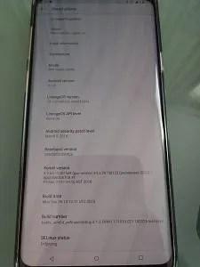 Snapdragon Samsung Galaxy S9 LineageOS 15.1