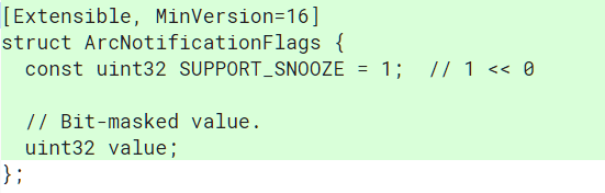 Chrome OS Notification Snoozing