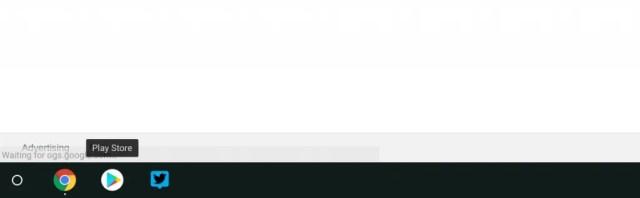 Chrome OS Shelf