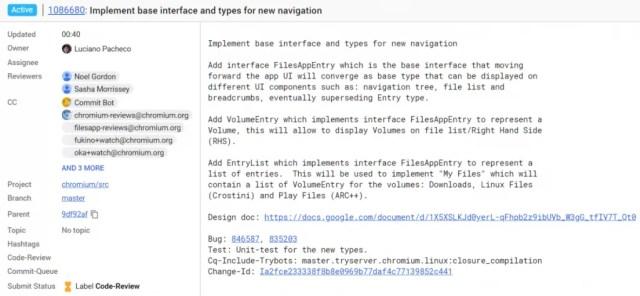 Chromebook Files App Revamp